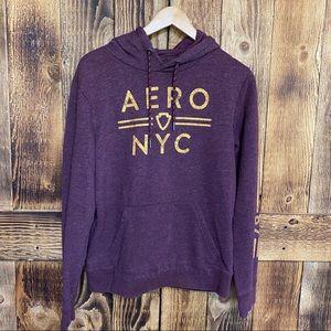 Aeropostale - Printed Hooded Sweatshirt - Sz Small